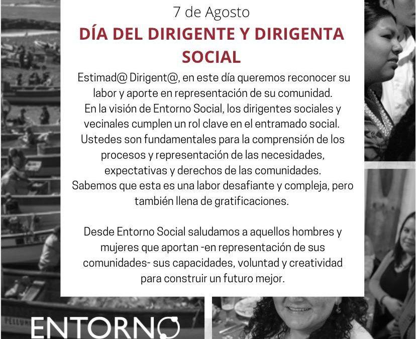 Día del Dirigente y Dirigenta Social